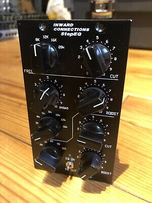 INWARD StepEQ - PULTEC EQ for API LUNCHBOX ( EXTREMELY RARE SSL NEVE LIKE ) [DE]