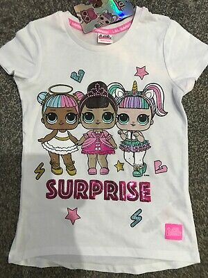 Girls LOL SURPRISE DOLL T-Shirt Official Licensed 4-5 years by Primark