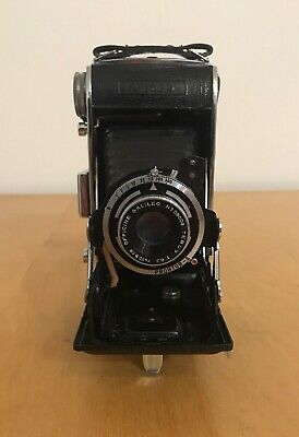 Ferrania Falco II Folding Rolling Film Camera
