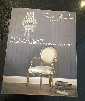 The French Bedroom Company Gift Voucher £88
