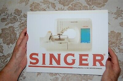 Factory Authorized Service Manual for Singer XL-1000 Sewing Machines