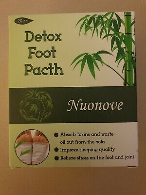 Detox foot patches by Nuonove - Brand New UK seller