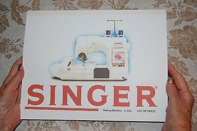 Illustrated Parts Manual to Service Singer Class XL-5000 Sewing Machines
