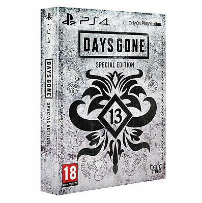 Days Gone ~ Special Edition ~ PS4 ~ NEW ~ Sealed