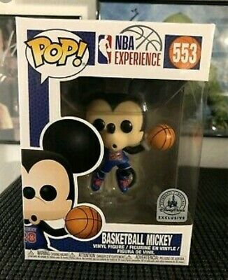 Funko Pop! #553 Basketball Mickey (Disney Exclusive) (NBA Experience Exclusive)