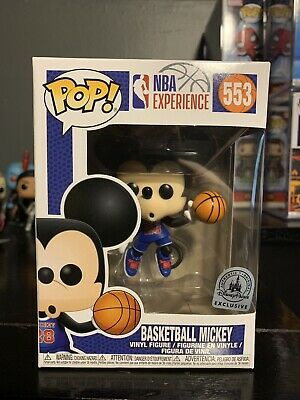 NBA Experience 553 Basketball Mickey Disney Parks Exclusive Funko Pop