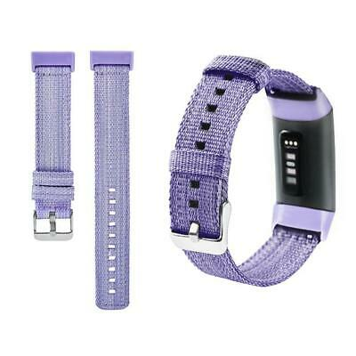 Canvas Wrist Replacement Strap for Fitbit Charge3 Fitbit Charge 3 Smart Bracelet