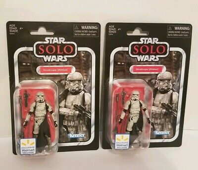 """Star Wars Vintage Collection Mimban Stormtrooper Wal-Mart Excl 3.75"""" VC123 Lot 2"""