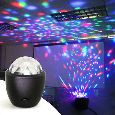 Lamp Sound Activated Laser Projector Party Light KTV Bar  Flash DJ  Led Disco