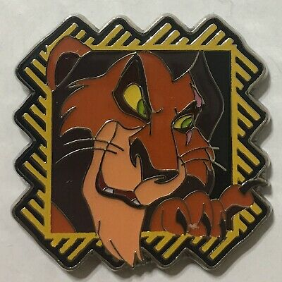 SCAR The Lion King 2017 Disney Pin Trading Starter Set PinPics 120345 Scar Only