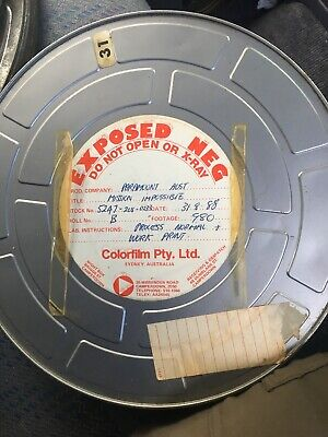35mm Original Rushes Developed Negative - Mission Impossible.