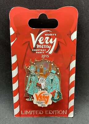 Disney MVMCP 2015 Mickey's Very Merry Christmas Party Haunted Mansion Pin LE