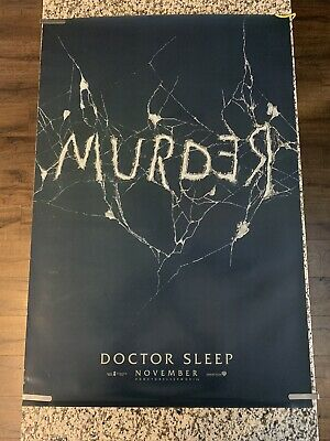 Doctor Sleep - original DS movie poster 27x40 D/S Adv - 2019 King Shining Sequel