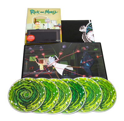 Rick and Morty: The Complete Series Seasons 1-3 (6-Disc DVD, Box Set) 1 2 3 123