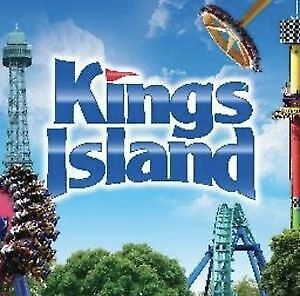 4 KINGS ISLAND THEME PARK TICKETS - Mason, OH -  Adult or Child