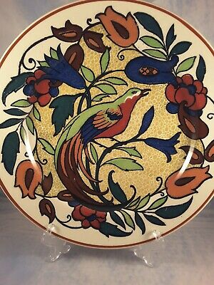 "Royal Doulton Display Plate  - ""Bird Of Paradise"" D 4602"