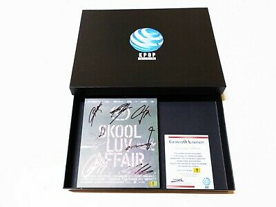 [ BTS ] SKOOL LUV AFFAIR AUTHENTIC Original Hand Signed Album CD COA + GIFT BOX