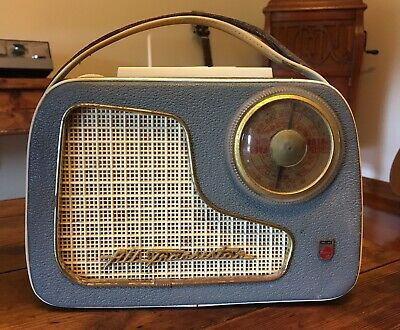 Vintage Philips All Portable Transistor Radio - Working