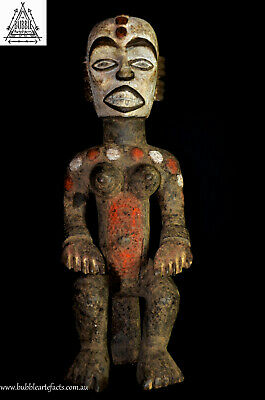 Stunning Vintage African Igbo Statue, Nigeria (french collector),  Africa