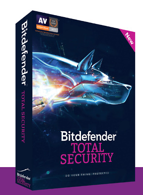 Bitdefender Total Security 2020 5 Devices 1 Year Subscription - Download Link