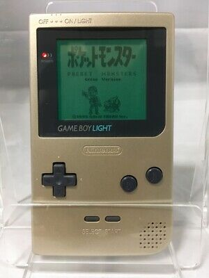 Nintendo Game Boy Light Gold Color Console Good Condition from Japan