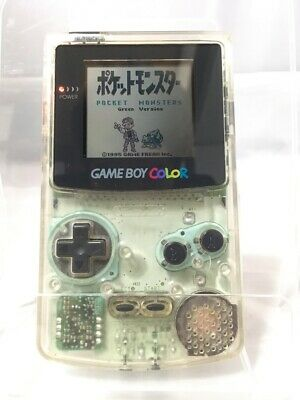 Nintendo Game Boy Color Clear color Console Good Condition from Japan