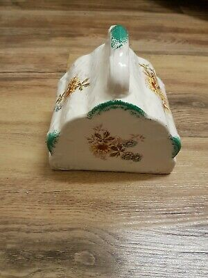 Antique porcelain cheese cover