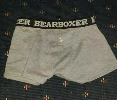 Build-A-Bear (BAB) Genuine Clothing Outfit Boxer Shorts *good used cond*