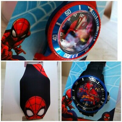 Marvel Spider-man Children Kids Watches Boys Analogue Digital Wrist Watches