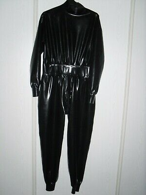 rubber latex  catsuit