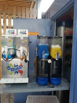 Used Slush Machine both in perfect working order, selling separately