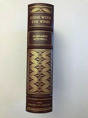 Gone With The Wind Leather Bound Franklin Library Luxury Edition 1976 Never Read