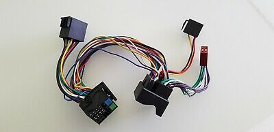 ISO2CAR Radio-Adapter AD-0123-UNI Anschluss-Kabel Mercedes oder andere Modelle