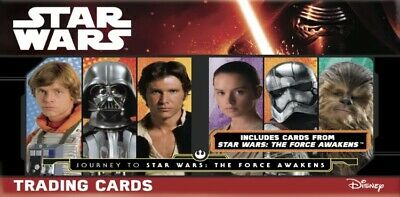 Topps Journey To Star Wars: The Force Awakens Environs 180 Cartes Dont Miroir