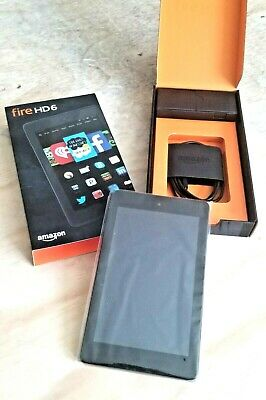 (NEW in box)  Amazon Kindle Fire HD 6 (Model PW98VM 4th Gen) 8gb