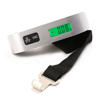 Portable LCD Digital Hanging Luggage Scale Travel Electronic Weight 50kg/10BLCA