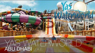 Yas Waterworld Abu Dhabi, Buy 1 Get 1 Free, BOGOF, Entertertainer 2019 E-Voucher