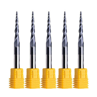 R0.75 End Mills 6MM Shank Tungsten Carbide Tapered Tools ALTIN Cutting