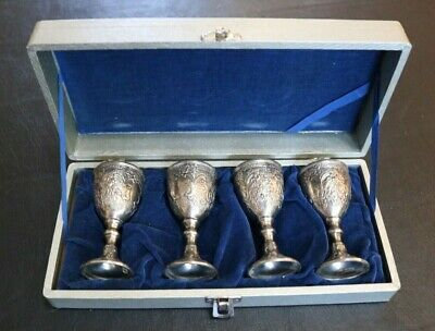 Vintage Corbell and Co. Silver Plated Goblet /Chalices