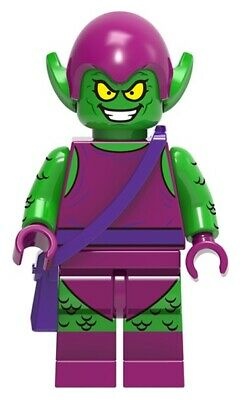 BM031 Lego Spiderman CUSTOM Green Goblin Custom Minifigure /& Custom Craft NEW