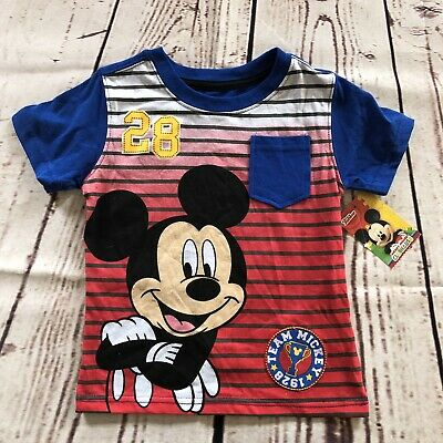 Disney Mickey Mouse Tshirt Boys 2T Clubhouse New