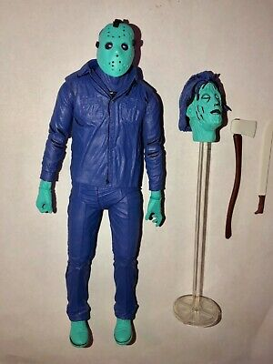 NECA Friday the 13th Jason Voorhees Action Figure NES Game