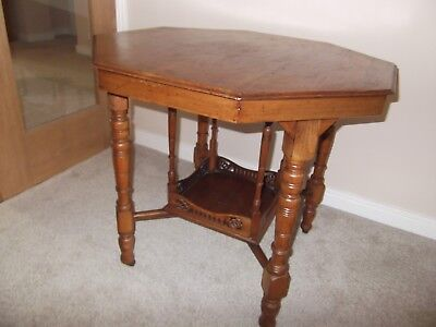 Antique/Victorian Octagon Occasional Table