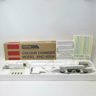 Brother Colour Changer KHC-820A Knitting Machine Accessory with Original Package