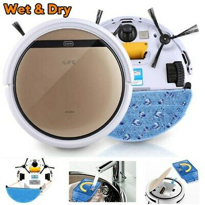 ILIFE V5S Pro Smart Cleaning Robot Vacuum Cleaner Wet & Dry Floor Sweep Machine