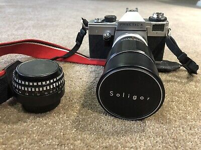 Praktica Camera with Two Lenses Excellent Condition