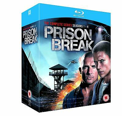 Prison Break - The Complete Series - Seasons 1-4 (Blu-ray) Collection English UK