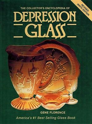 Collector Encyclopedia of Depression Glass Gene Florence 9th Edition Hardcover