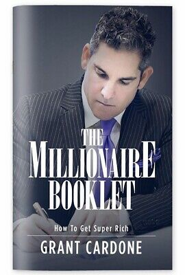 The Millionaire Booklet: How to Get Super Rich [Hardcover] + BONUS PACKAGE