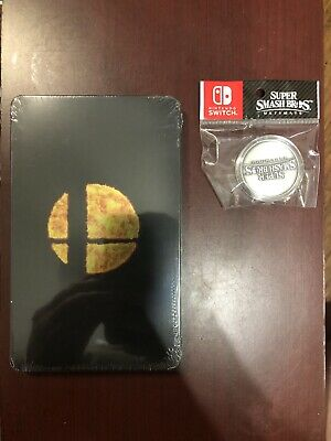 Super Smash Bros Ultimate Steelbook With Coin NO GAME INCLUDED Nintendo Switch